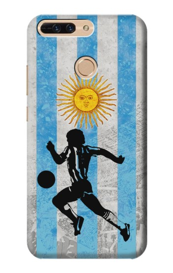 Printed Argentina Football Flag Huawei Ascend MATE7 Case