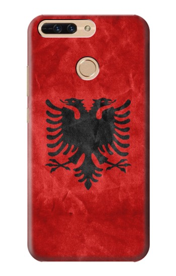 Printed Albania Red Flag Huawei Ascend MATE7 Case