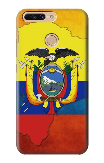 Printed Ecuador Flag Huawei Ascend MATE7 Case