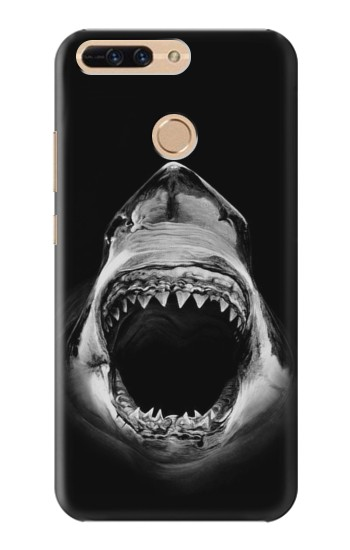 Printed Great White Shark Huawei Ascend MATE7 Case