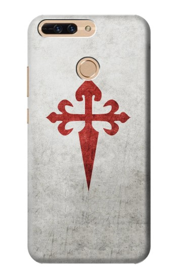 Printed Order of Santiago Cross of Saint James Huawei Ascend MATE7 Case