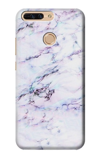 Printed Seamless Pink Marble Huawei Ascend MATE7 Case