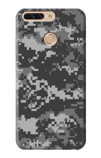 Printed Urban Black Camouflage Huawei Ascend MATE7 Case