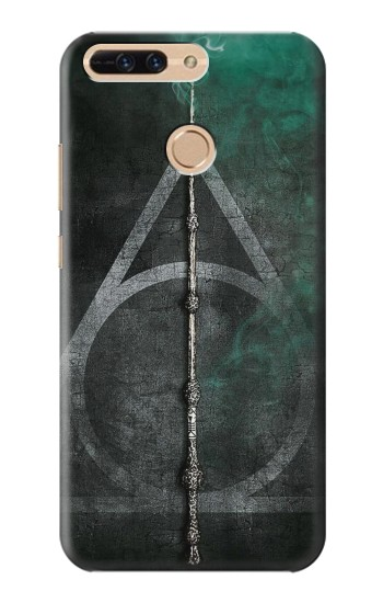 Printed Harry Potter Magic Wand Huawei Ascend MATE7 Case