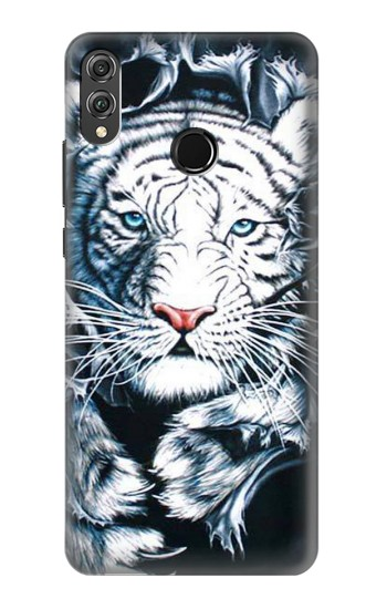 Printed White Tiger Huawei Honor 8X Case