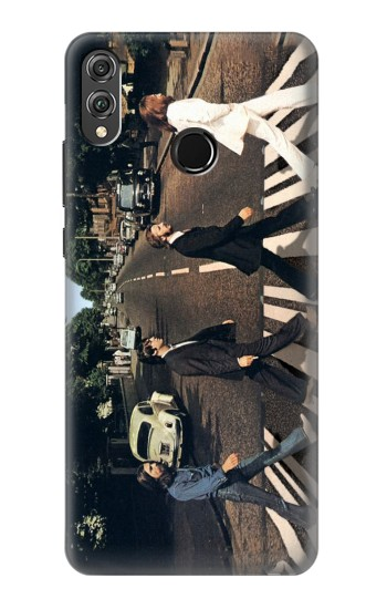 Printed The Beatles Abbey Road Huawei Honor 8X Case