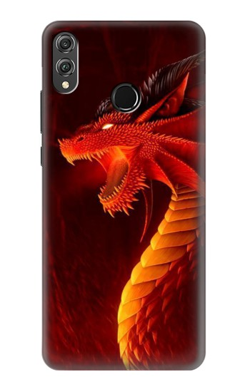 Printed Red Dragon Huawei Honor 8X Case