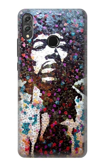 Printed Pick Guitar Art Jimi Hendrix Huawei Honor 8X Case