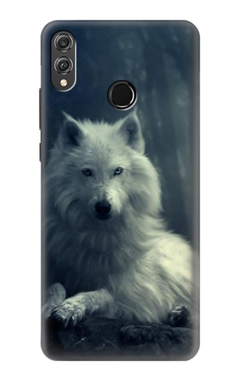 Printed White Wolf Huawei Honor 8X Case