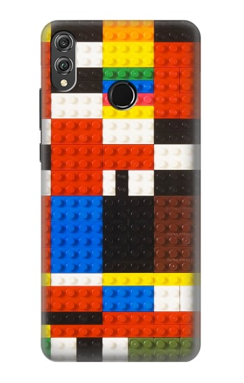 Printed Brick Toy Lego Graphic Printed Huawei Honor 8X Case