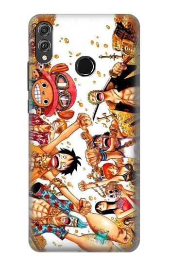 Printed One Piece Straw Hat Luffy Pirate Crew Huawei Honor 8X Case