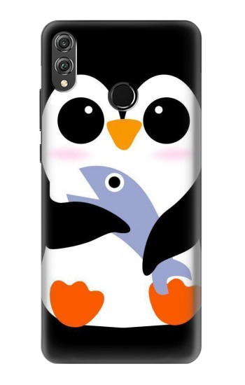 Printed Cute Baby Penguin Huawei Honor 8X Case