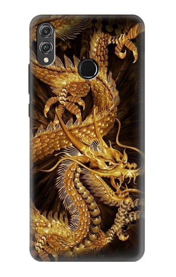 Printed Chinese Gold Dragon Printed Huawei Honor 8X Case