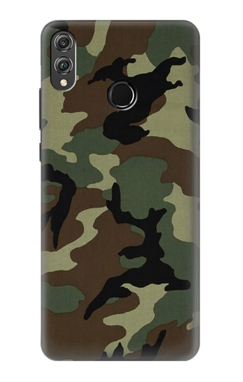 Printed Army Green Woodland Camo Huawei Honor 8X Case