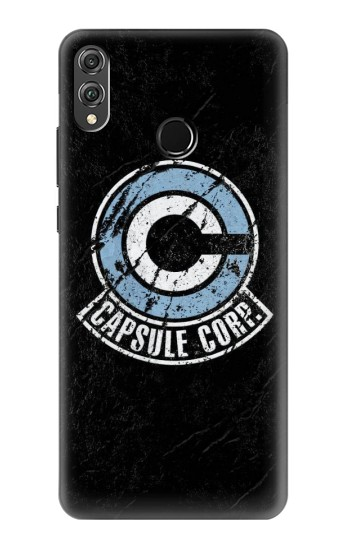 Printed Dragon Ball Capsule Corporation Black Rock Huawei Honor 8X Case