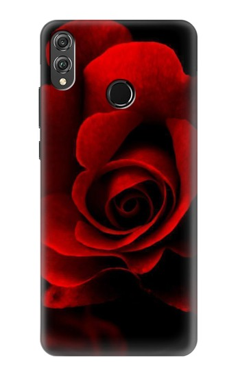 Printed Red Rose Huawei Honor 8X Case