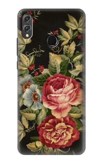 Printed Vintage Antique Roses Huawei Honor 8X Case