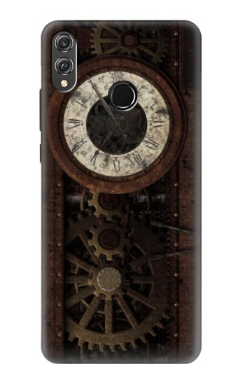 Printed Steampunk Clock Gears Huawei Honor 8X Case