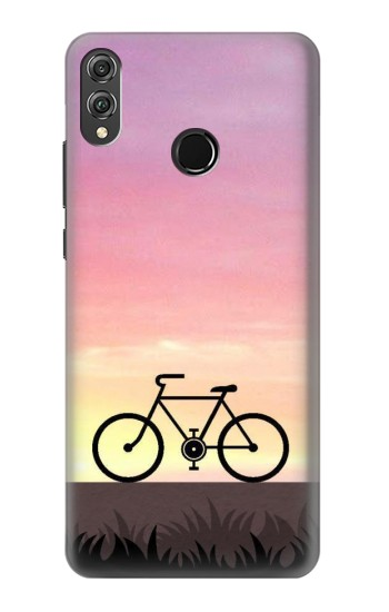 Printed Bicycle Sunset Huawei Honor 8X Case