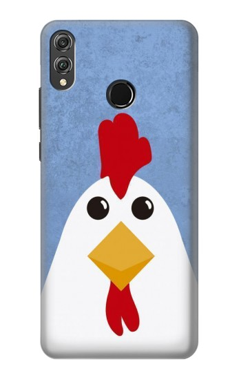 Printed Chicken Cartoon Huawei Honor 8X Case