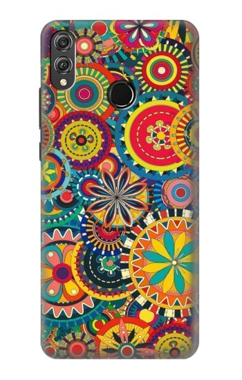 Printed Colorful Pattern Huawei Honor 8X Case