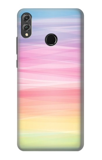 Printed Colorful Rainbow Pastel Huawei Honor 8X Case