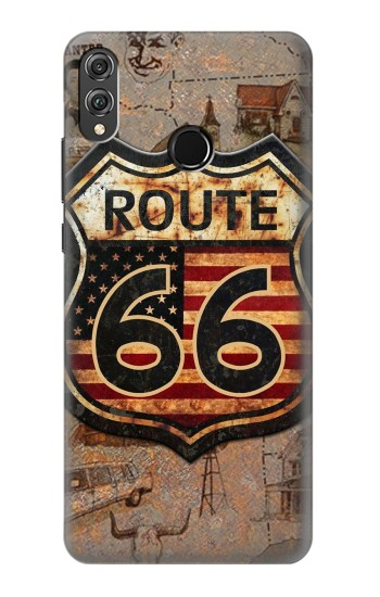 Printed Route 66 Huawei Honor 8X Case