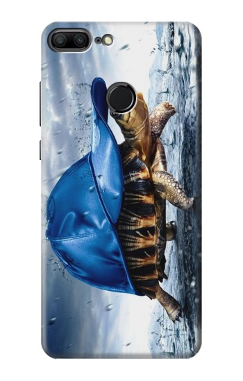 Printed Turtle in the Rain Huawei Honor 9 Lite Case