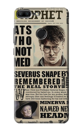 Printed Harry Potter Daily Prophet Huawei Honor 9 Lite Case