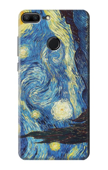 Printed Van Gogh Starry Nights Huawei Honor 9 Lite Case