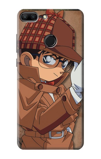 Printed Detective Conan Case Closed Huawei Honor 9 Lite Case