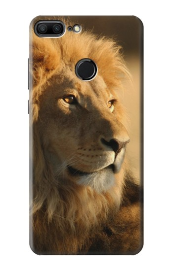 Printed Lion King of Forest Huawei Honor 9 Lite Case