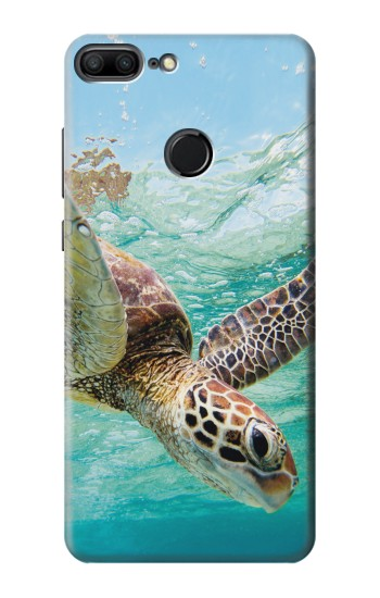 Printed Ocean Sea Turtle Huawei Honor 9 Lite Case