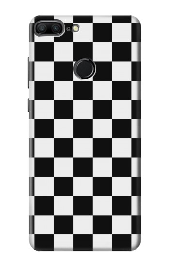 Printed Checkerboard Chess Board Huawei Honor 9 Lite Case