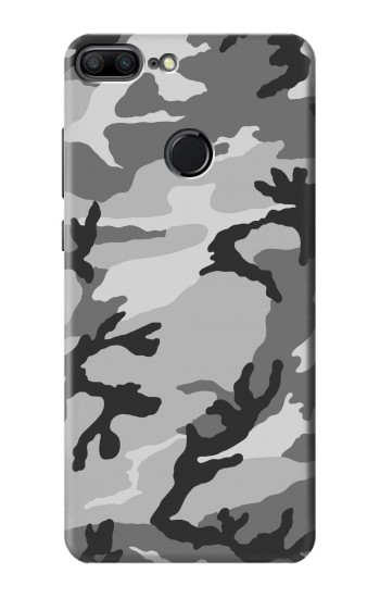 Printed Snow Camo Camouflage Graphic Printed Huawei Honor 9 Lite Case