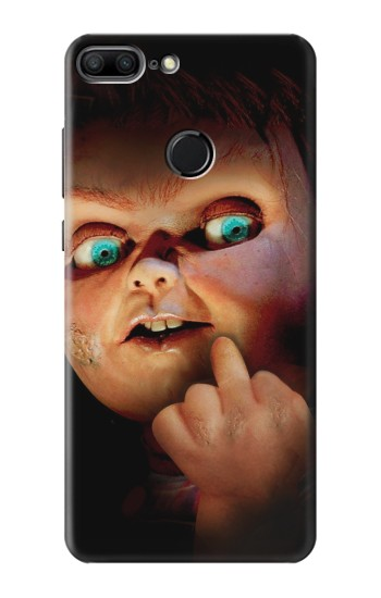 Printed Chucky Middle Finger Huawei Honor 9 Lite Case