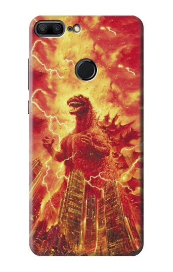 Printed Godzilla The Legend Is Reborn Huawei Honor 9 Lite Case