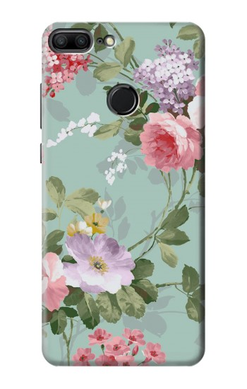 Printed Flower Floral Art Painting Huawei Honor 9 Lite Case