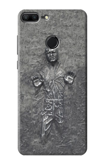 Printed Han Solo in Carbonite Huawei Honor 9 Lite Case