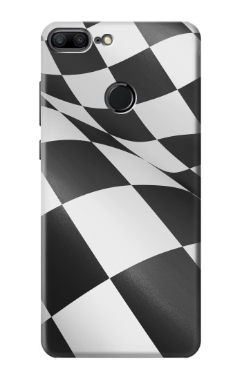 Printed Checkered Winner Flag Huawei Honor 9 Lite Case