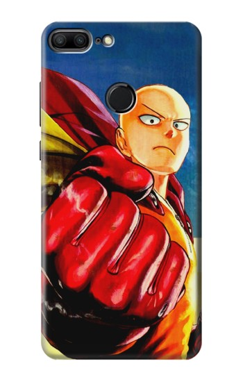 Printed Saitama One Punch Man Huawei Honor 9 Lite Case