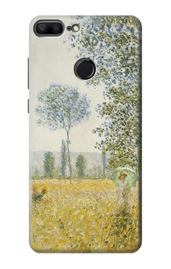 Printed Claude Monet Fields In Spring Huawei Honor 9 Lite Case
