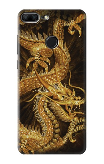 Printed Chinese Gold Dragon Printed Huawei Honor 9 Lite Case