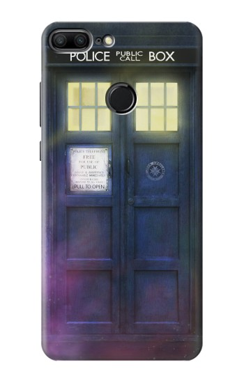 Printed Tardis Phone Box Huawei Honor 9 Lite Case