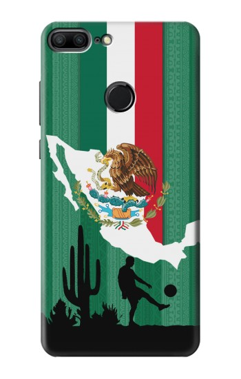 Printed Mexico Football Flag Huawei Honor 9 Lite Case