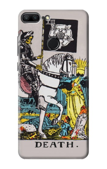 Printed Tarot Card Death Huawei Honor 9 Lite Case