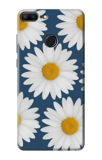 Printed Daisy Blue Huawei Honor 9 Lite Case
