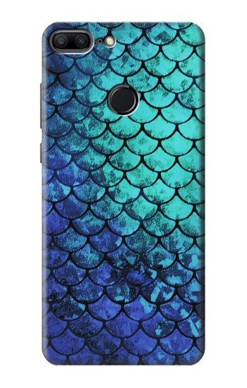Printed Green Mermaid Fish Scale Huawei Honor 9 Lite Case