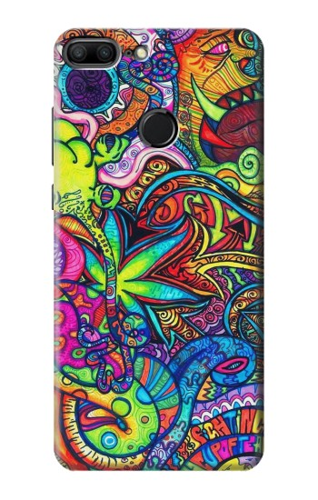 Printed Colorful Art Pattern Huawei Honor 9 Lite Case