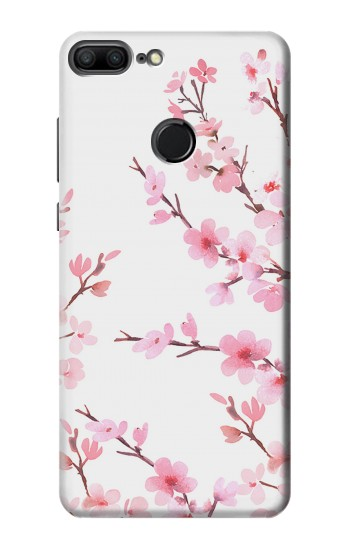 Printed Pink Cherry Blossom Spring Flower Huawei Honor 9 Lite Case